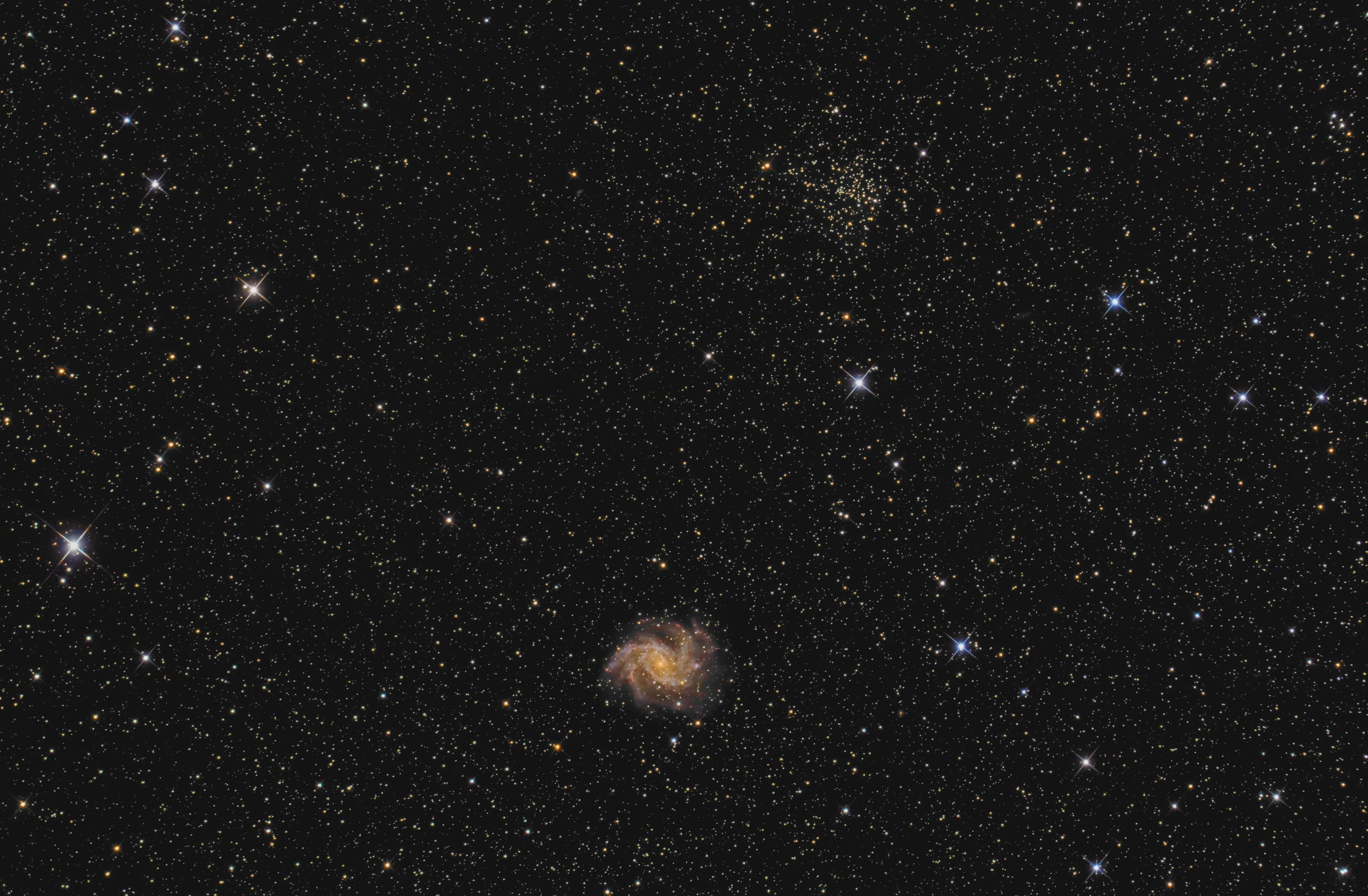 NGC 6939 and NGC 6946